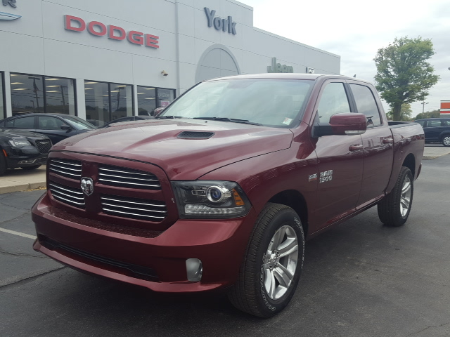 new 2017 ram 1500 sport 4d crew cab in 17072 york automotive. Black Bedroom Furniture Sets. Home Design Ideas