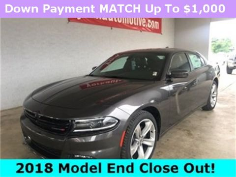 New 2018 Dodge Charger SXT RWD 4D Sedan