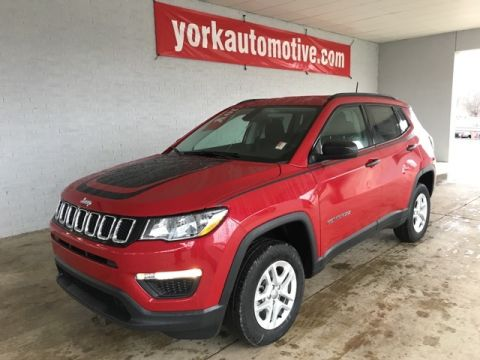 New 2018 Jeep Compass Sport 4WD