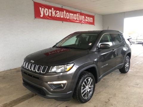 New 2018 Jeep Compass Latitude 4WD