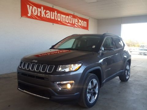 New 2018 Jeep Compass Limited 4WD