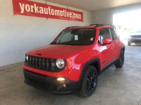 New 2018 Jeep Renegade Latitude FWD 4D Sport Utility